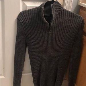 Express Sweaters - Dark grey, dress sweater